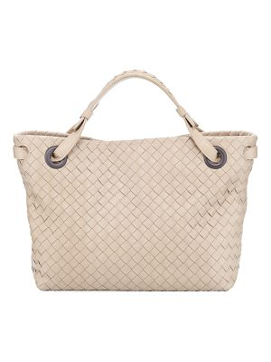 BOTTEGA VENETA Intrecciato Small Square Bucket Bag