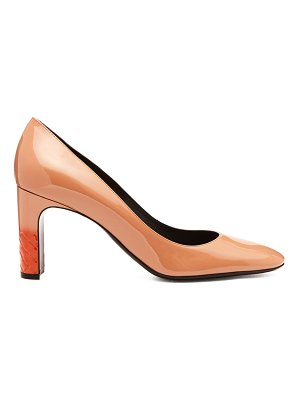 Bottega Veneta Isabella Patent Leather Pumps