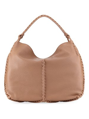 Bottega Veneta Medium Deerskin Leather Hobo Bag