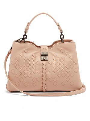Bottega Veneta Napoli small Intreccaio woven leather handbag