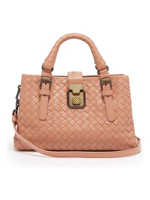Bottega Veneta Roma mini Intrecciato leather tote