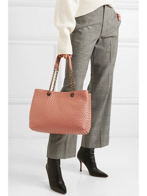 Bottega Veneta small intrecciato leather tote
