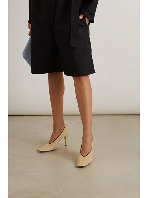 Bottega Veneta textured-leather pumps