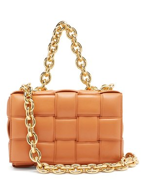 Bottega Veneta the chain cassette intrecciato padded leather bag