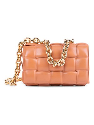 Bottega Veneta the chain padded cassette leather shoulder bag