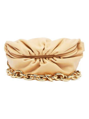 Bottega Veneta the chain pouch small leather clutch bag