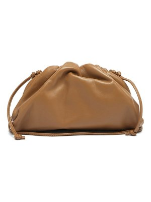 Bottega Veneta the pouch small leather clutch bag