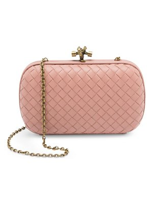 Bottega Veneta chain knot leather clutch