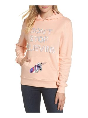 BOW & DRAPE Don't Stop Believing Hoodie