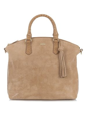 BRAHMIN Large Duxbury Leather Satchel
