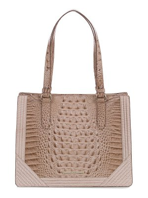 Brahmin medium camille leather satchel