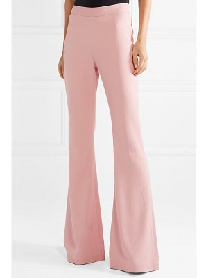 Brandon Maxwell crepe flared pants