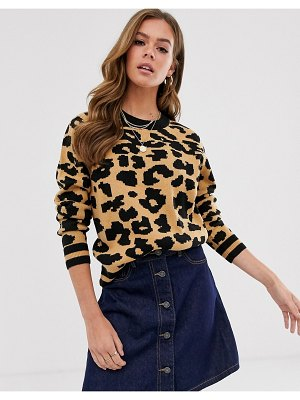 Brave Soul animal print sweater