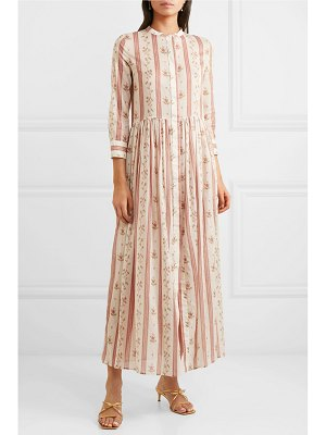 BROCK COLLECTION floral-print cotton maxi dress