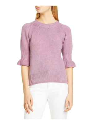 BROCK COLLECTION flounce cuff cashmere sweater