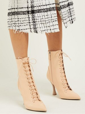 BROCK COLLECTION x tabitha simmons leather ankle boots