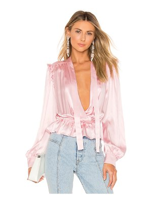 BROGNANO Satin Blouse