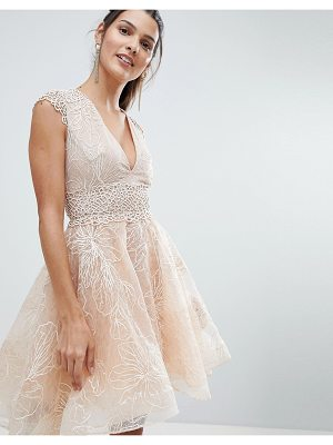Bronx and Banco Embellished Skater Dress