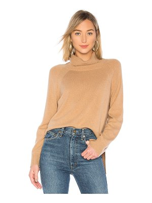 BROWN ALLAN The Turtleneck Rib Sweater