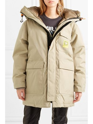 Brumal oversized hooded down parka