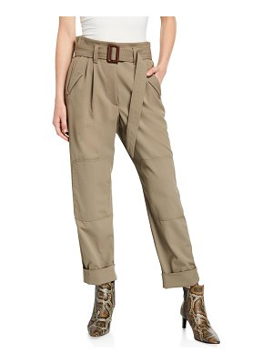 Brunello Cucinelli Couture Gabardine Pants