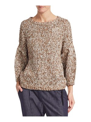 Brunello Cucinelli cropped knit pullover