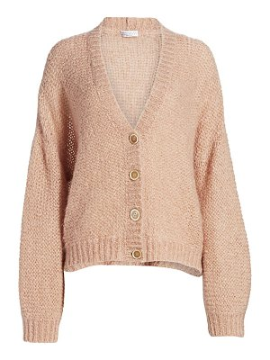 Brunello Cucinelli mohair-blend oversized cardigan