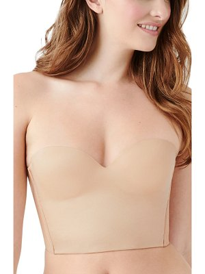 B.Tempt'D By Wacoal future foundation strapless longline underwire bra