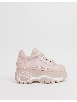 Buffalo london flatform chunky sneakers in pink
