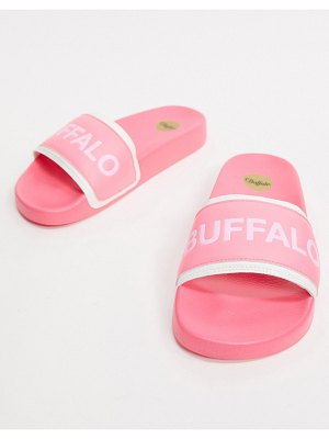 Buffalo pool slide in pink