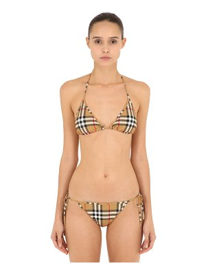 Burberry All over check bikini