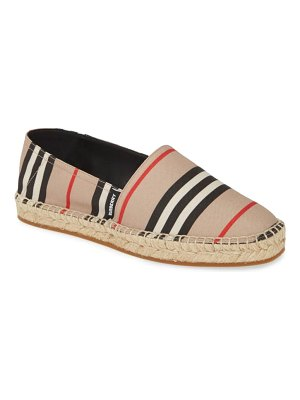 Burberry alport icon stripe espadrille
