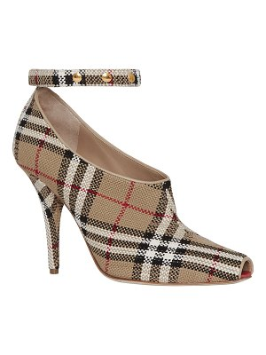 Burberry Blyth Check Runway Pumps