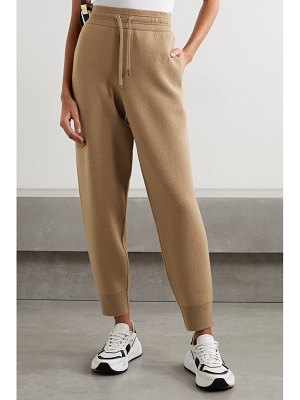 Burberry cashmere-blend track pants