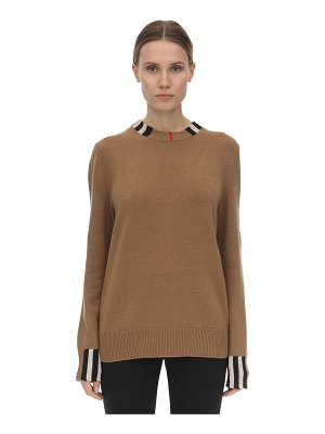 Burberry Eyre cashmere knit sweater