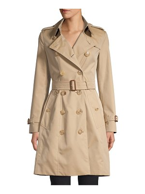 Burberry chelsea tie-waist trench coat