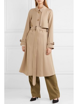 Burberry the cinderford wool-gabardine trench coat