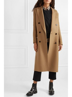 Burberry double-breasted wool and silk-blend twill coat