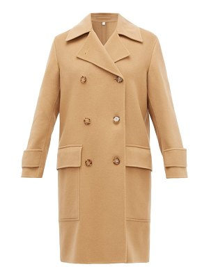 Burberry earsdon double-breasted cashmere coat
