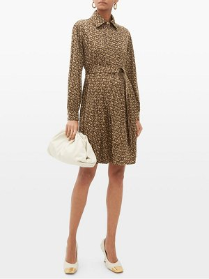 Burberry fedora pleated tb-monogram dress