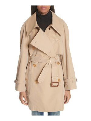 BURBERRY Fortingall Cotton Gabardine Trench Coat