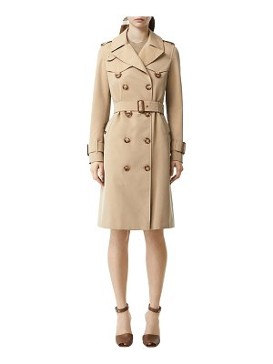 Burberry Islington cotton canvas trench coat