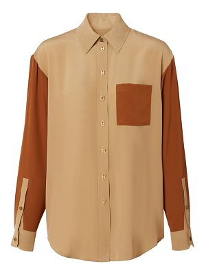 Burberry juliette mulberry silk shirt