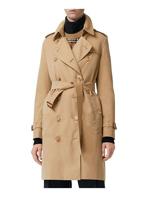 Burberry Kensington Heritage Belted Trench Coat