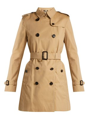 Burberry kensington cotton gabardine trench coat