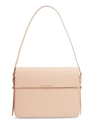 Burberry large grace leather shoulder bag