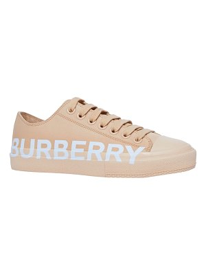 Burberry Larkhall Cotton Logo Low-Top Sneakers