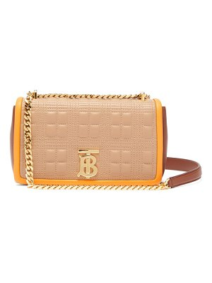 Burberry lola quilted-leather cross-body bag