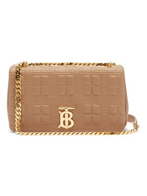 Burberry lola small quilted-leather shoulder bag