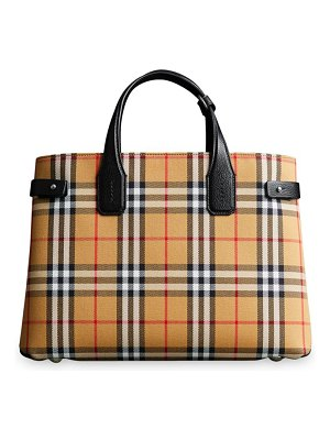 Burberry medium banner vintage check satchel